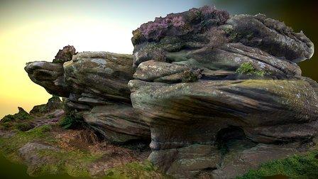 Brimham - Rocks 2 3D Model