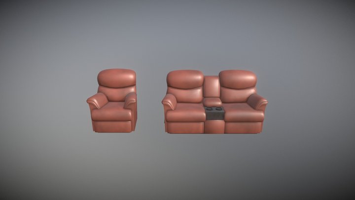 lazboy recliner 3D Model