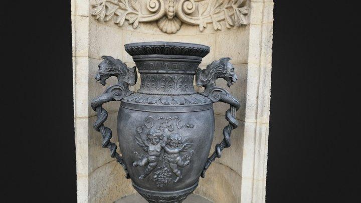 3D scan Urn, Vase   Castle Hill Budapest 3D Model