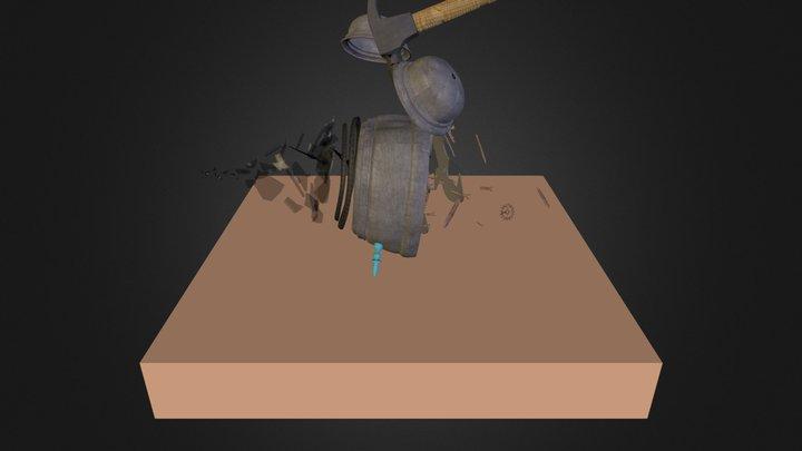 Réveil 3D Model