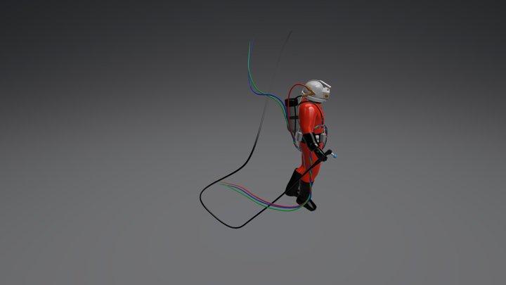 5- Dive Suit 3D Model