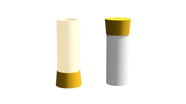 Lantern.step Yellow by .step 3D Model