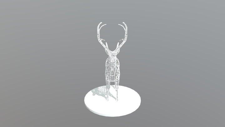 """Atlas"" Elk 3D Model 3D Model"