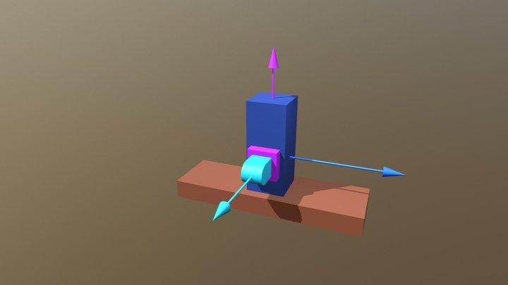 Kinematický reťazec TTT 3D Model