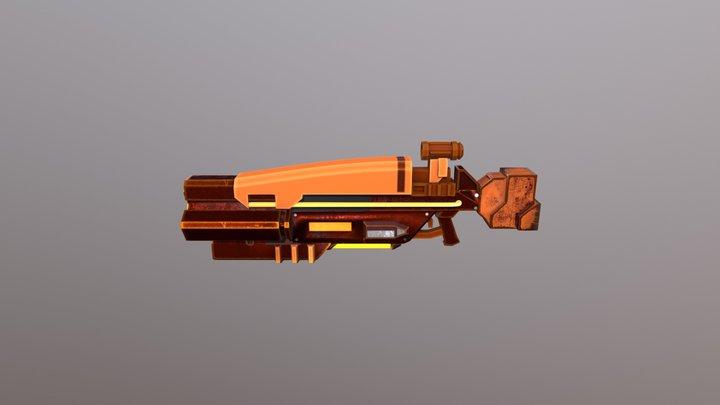 Sifi Rifle 3D Model