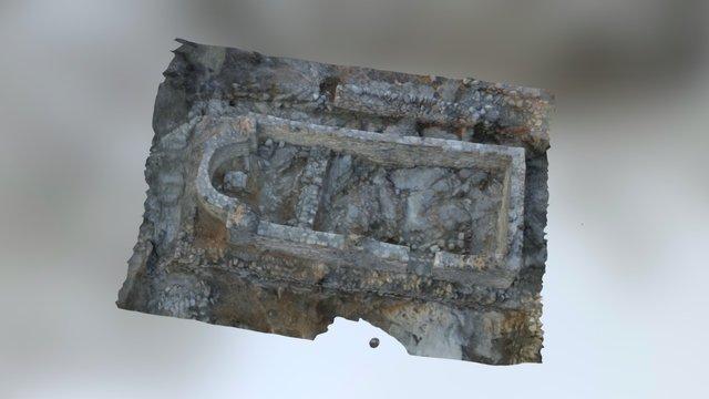 Santa Cecilia church 3D Model