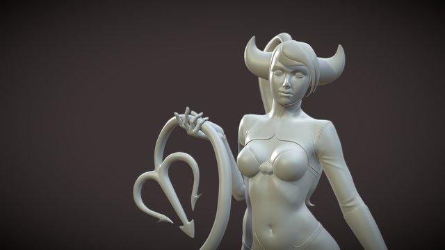 Lucy Fernandez 3D Model