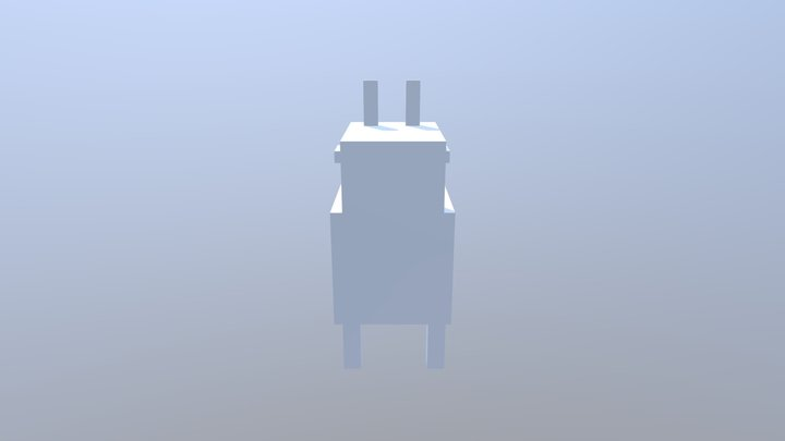 Llama (Stylistic) 3D Model