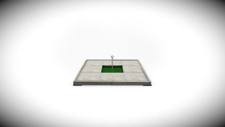 Wo T- Mat 3D Model