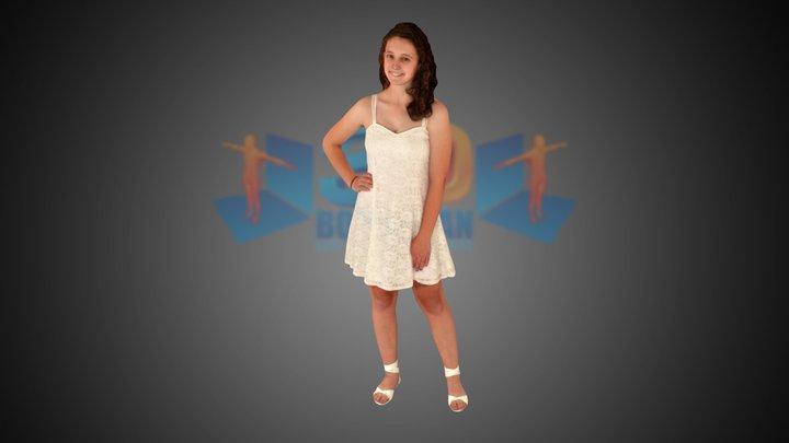 Amywhite 3D Model