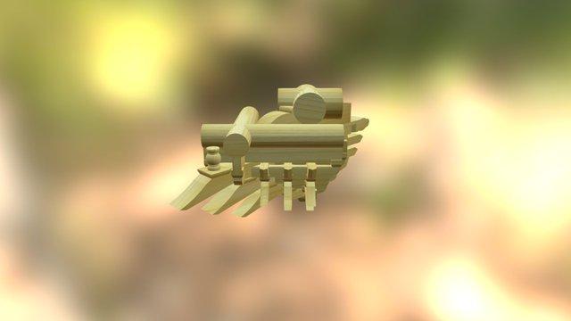 七踩角科 3D Model