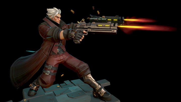 Dante - Devil May Cry - Fan art -  Retrogasm 3D Model