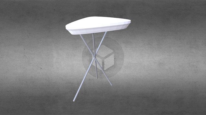 Журнальный столик 8360 от Rolf-benz 3D Model