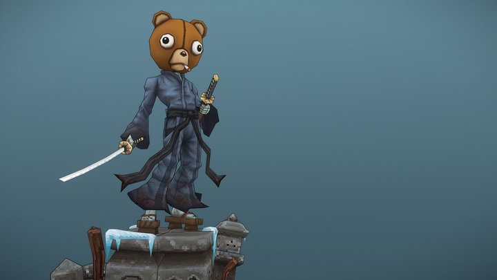 Afro Samurai - Kuma 3D Model