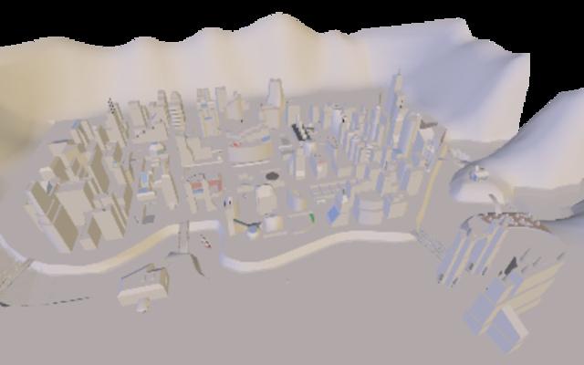 metropolis 3D Model