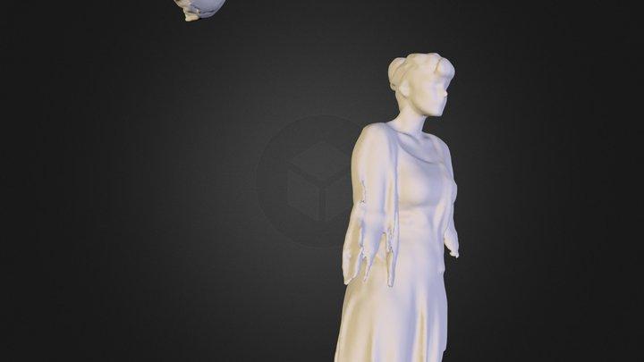 claudia y luna 3D Model
