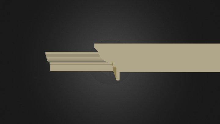 Eave InwardCorner.dae 3D Model