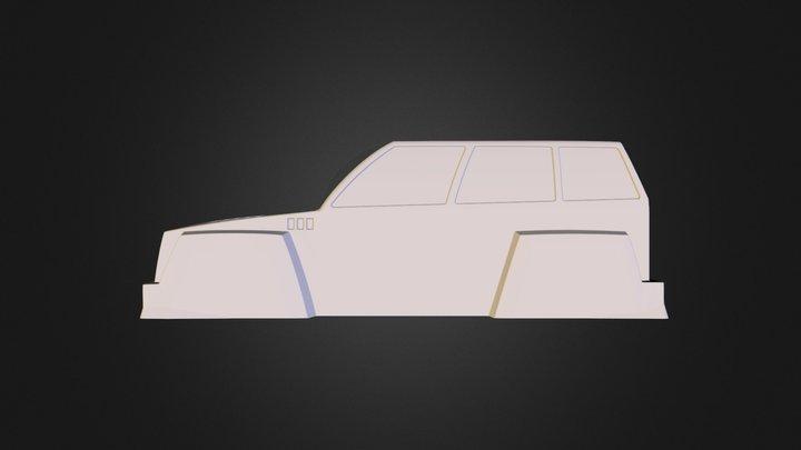 Torro Automobili Limitato UAV 3D Model