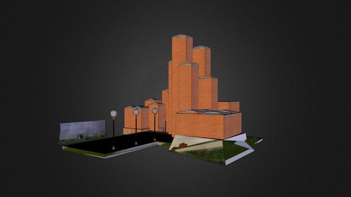 21. oktobar-museum 3D Model