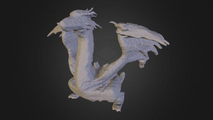 Dragon (mesh no-texture) 3D Model