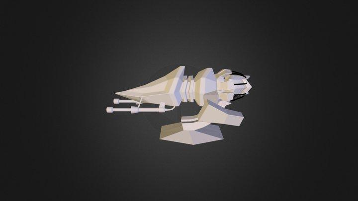 Skidder 3D Model