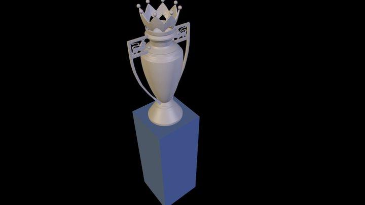 Premier League Trophy 3D Model