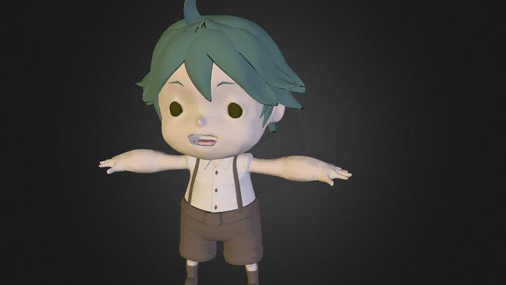 Kid01 3D Model
