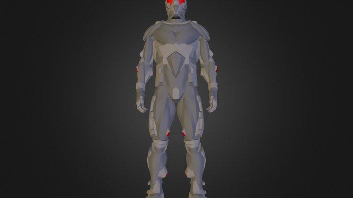 nanosuit.fbx 3D Model