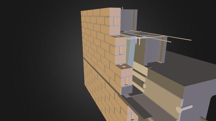 cerramiento tradicional 01.dae 3D Model