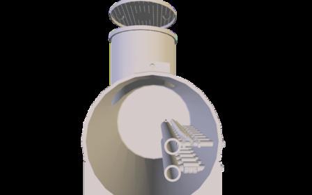 Enron Geothermieverteiler 3D Model