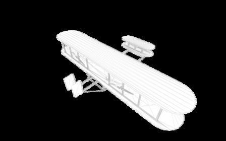 Wright_Flyer.3ds 3D Model