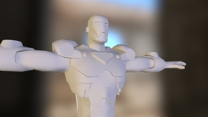 ironman.obj 3D Model