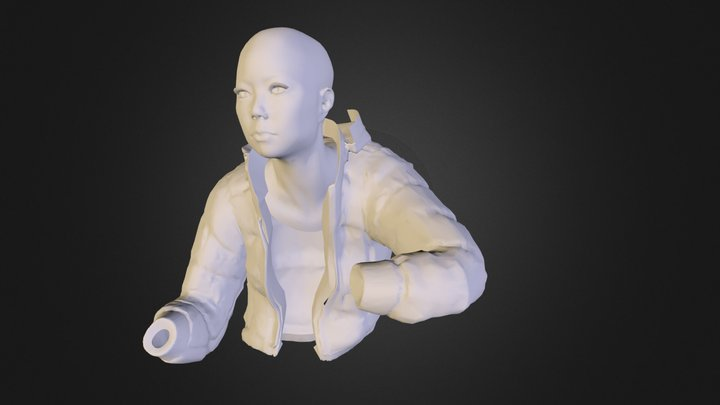 head_test.obj 3D Model