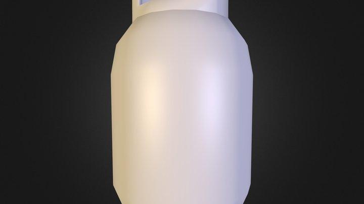 gaz bottel.blend 3D Model