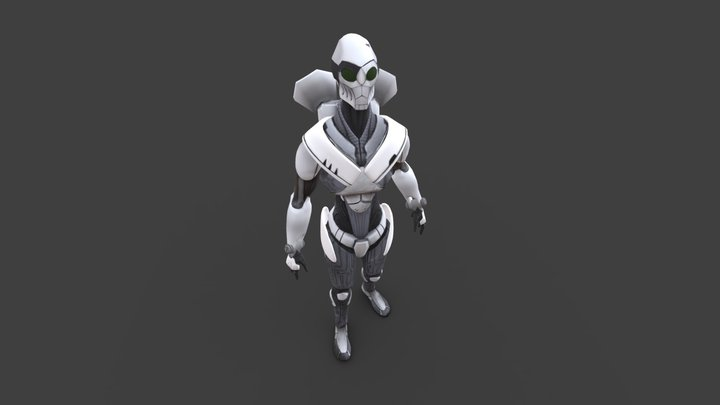 T-R0T Game Res 3D Model