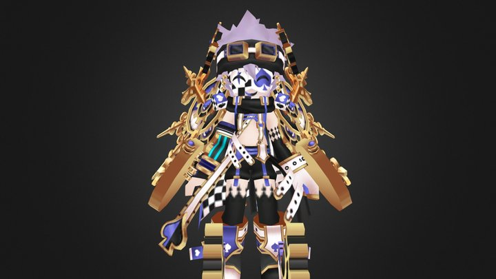 """[GCElyos] S.R Chester """"Azin"""" 3D Model"""