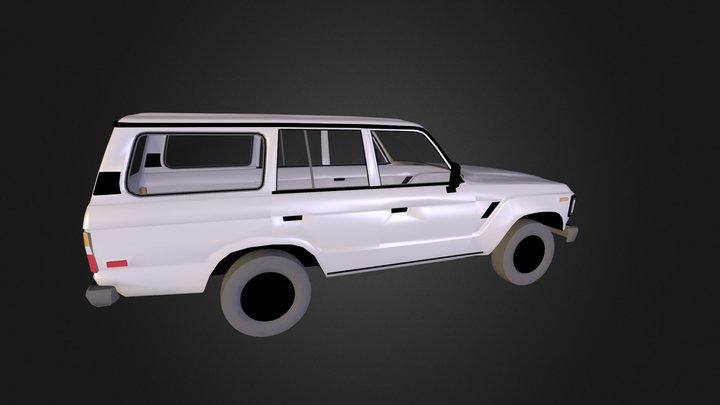 landcruiser.3ds 3D Model