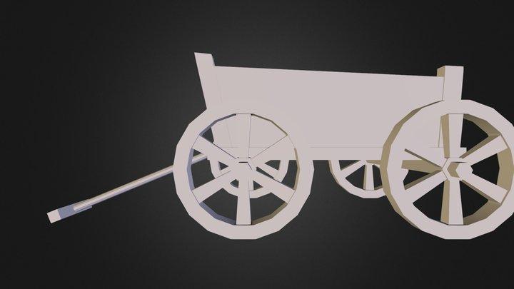 cart.obj 3D Model