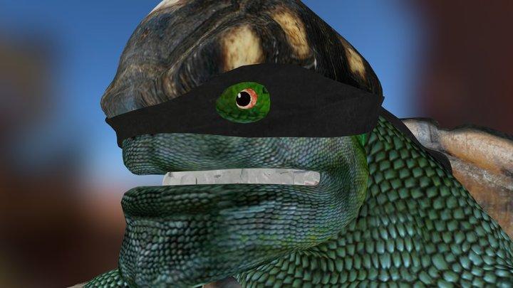 killer turtles 3D Model