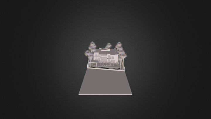 modernhouse.dae 3D Model