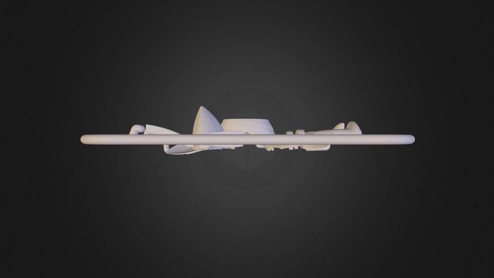 moonfox-sprue.stl 3D Model
