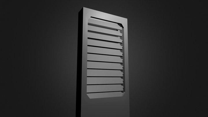 Wall Vent 3D Model