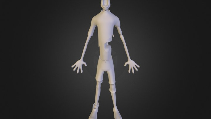 body_marmoset_test.obj 3D Model