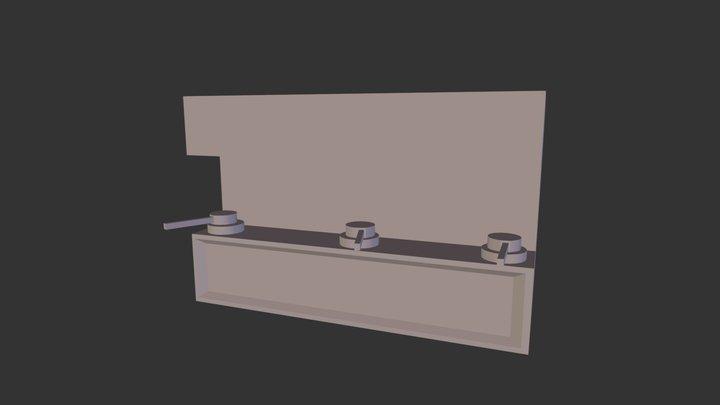 coffe machine.fbx 3D Model