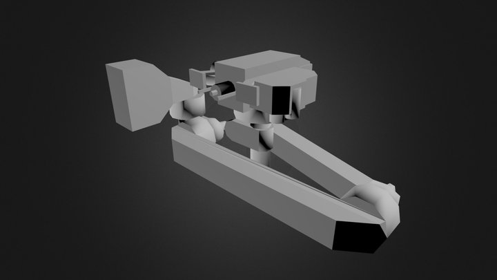 arm rough MK2-1 3D Model