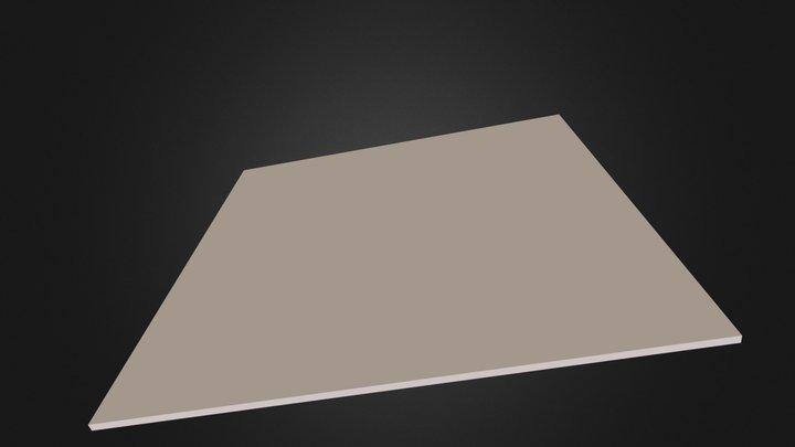3x3 table top 3D Model