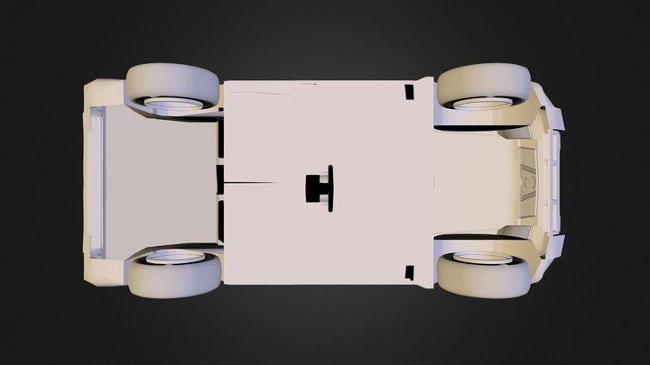 Xtrailsimple1.fbx 3D Model