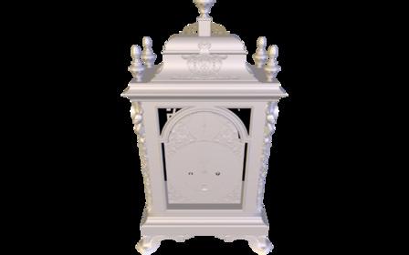 Antique Bracket Clock 3D Model