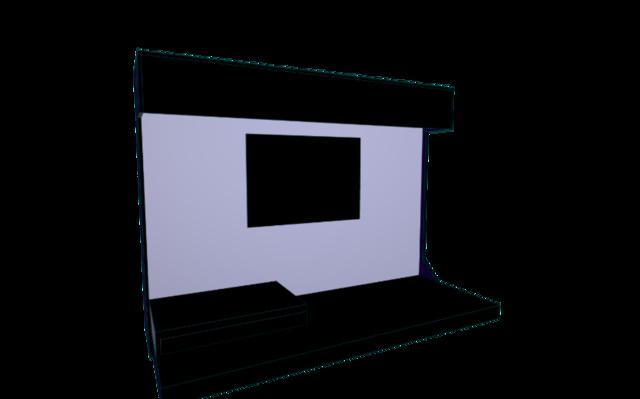 Alphaone display final.dxf 3D Model