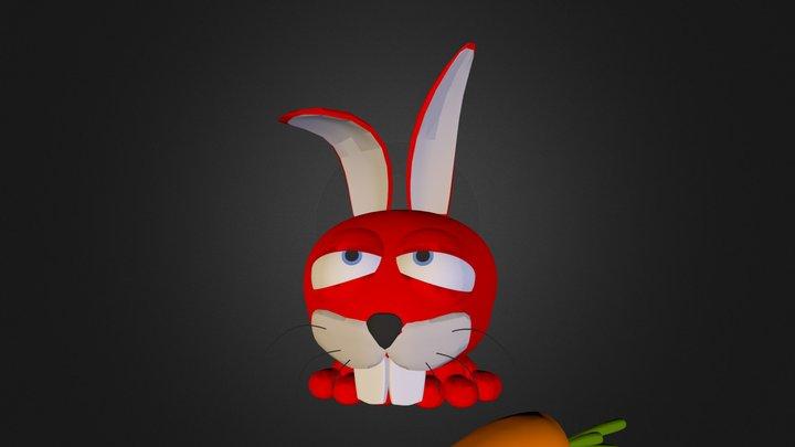 Toy Rabbit N130810.3DS 3D Model